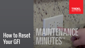 Maintenance Minute - GFI Image
