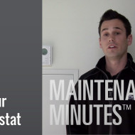 Maintenance Minute - Thermostat