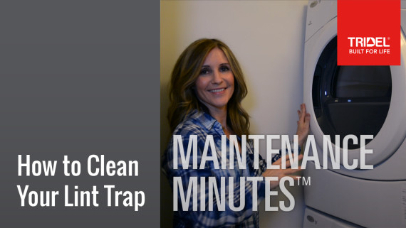 Maintenance Minutes: How to Clean your Lint Trap