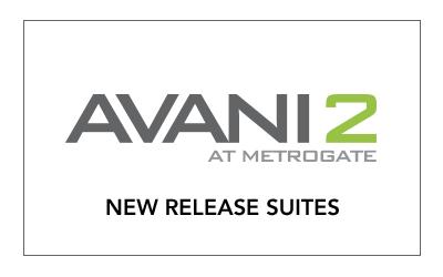 Avani2 - New Release Suites