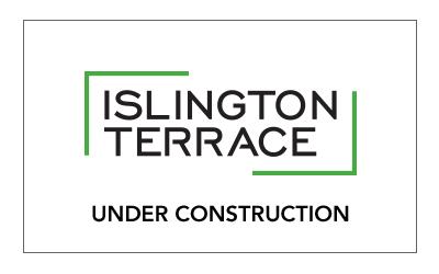 Islington Terrace Under Construction