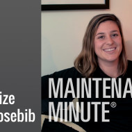 Maintenance Minute -Hosebib