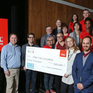 Tridel Take Action Team Free The Children Cheque Presentation
