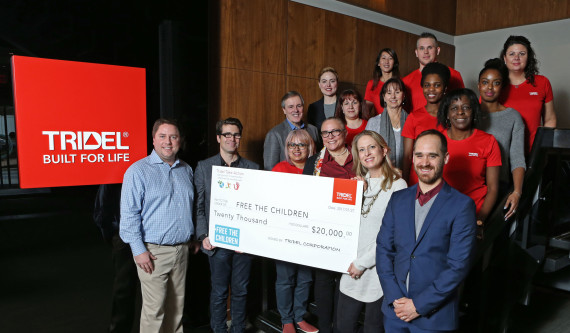 Congratulations to the Tridel Take Action Team