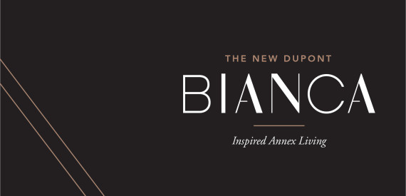 Introducing BIANCA. The first luxury condominium on The New Dupont.