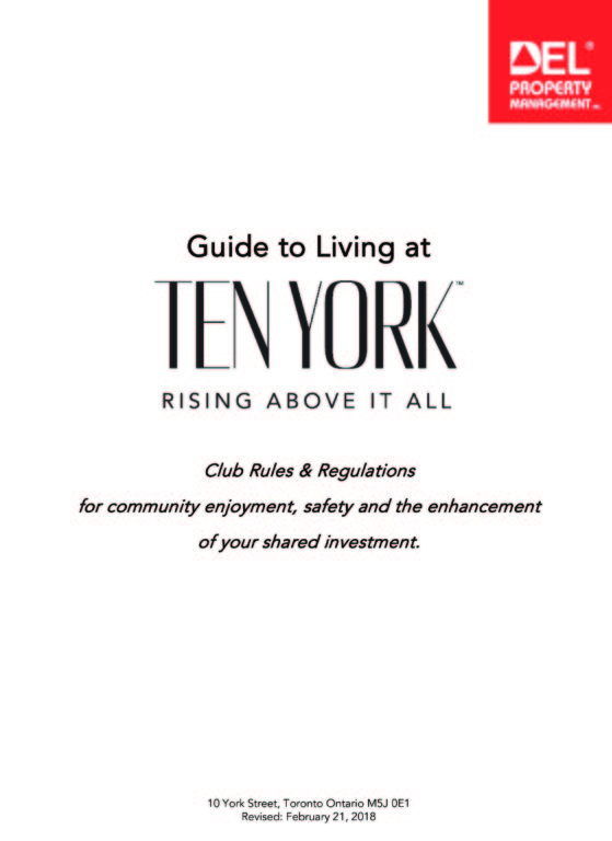 Ten York Club & House Rules
