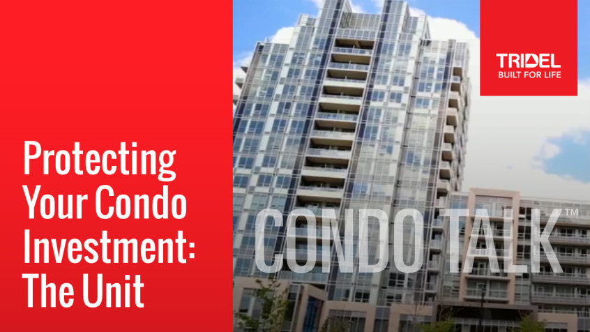 Protecting your condo investment.