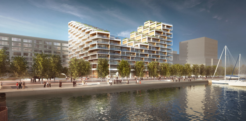 Hines and Tridel select Danish Architects 3XN for the next phase of Bayside