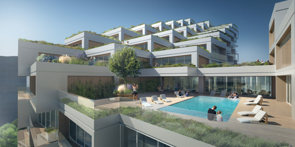 Bayside Toronto Proposed Rendering for Phase Three, Terrace
