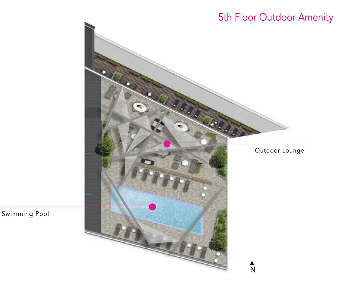Via Bloor Amenities - 5th Floor