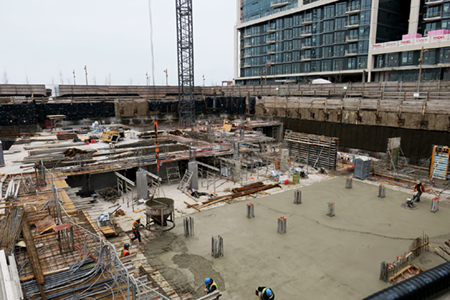 Aquavista January 2017 Construction Image