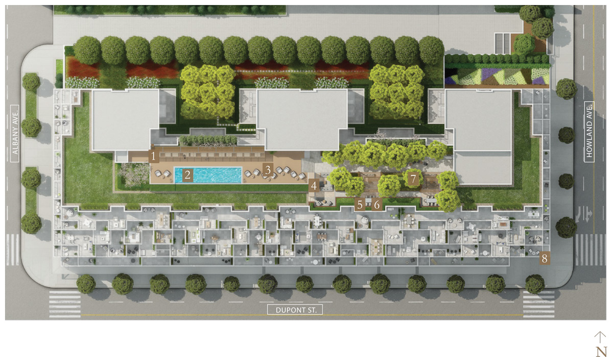 Bianca Amenity Outdoor Plan