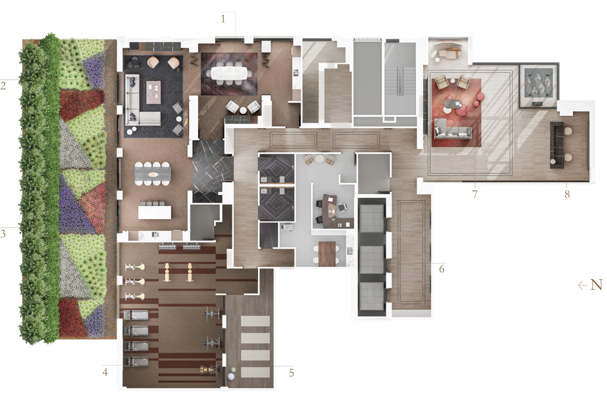 Bianca Amenity Indoor Plan