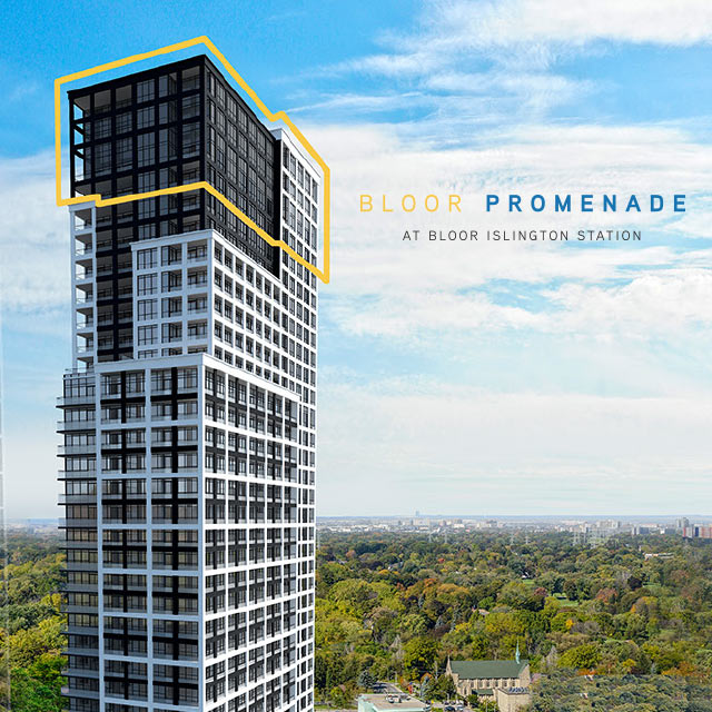 Bloor Promenade - New Release of Signature Suites