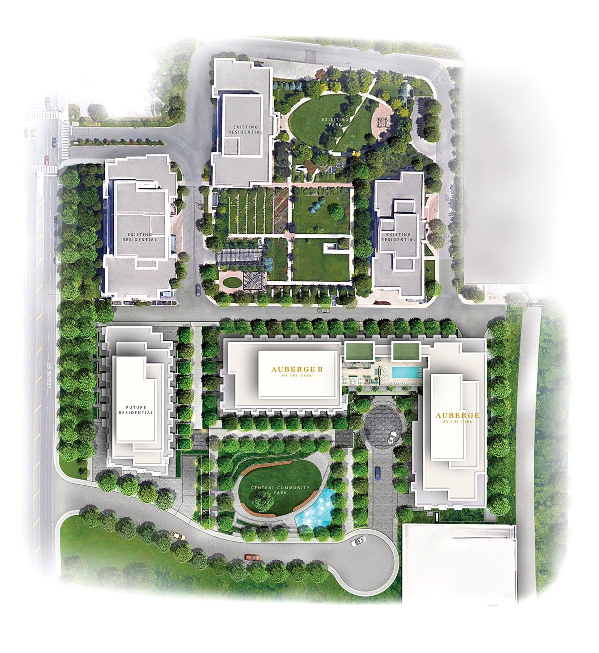 Auberge Masterplan