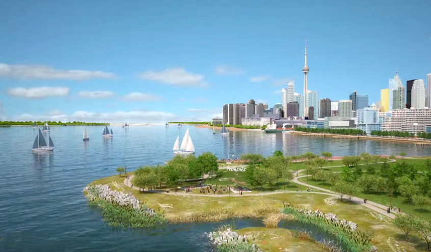 A Look at the New Neighbourhoods Shaping Toronto's Reimagined Waterfront