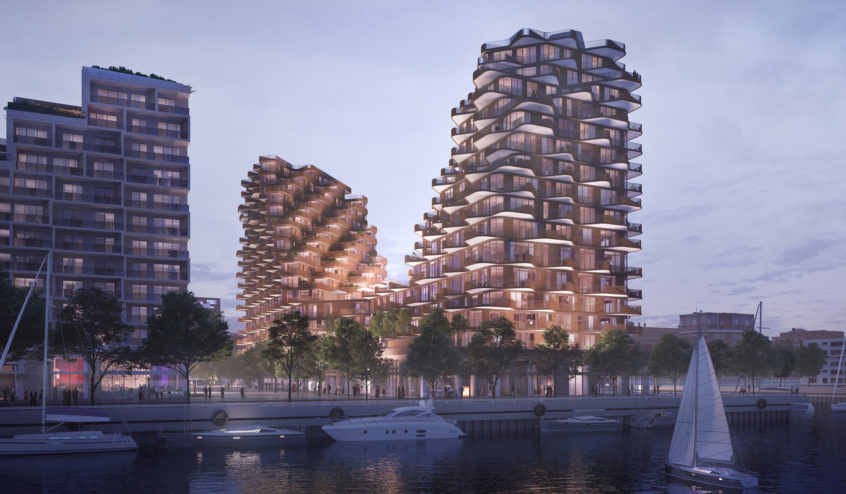 3XN Architects Discusses Their Inspiration for Aqualuna at Bayside