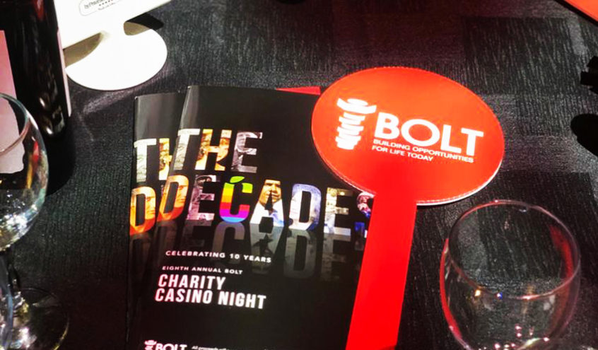 BOLT Charitable Foundation Hosts 8th Annual Casino Night Fundraiser