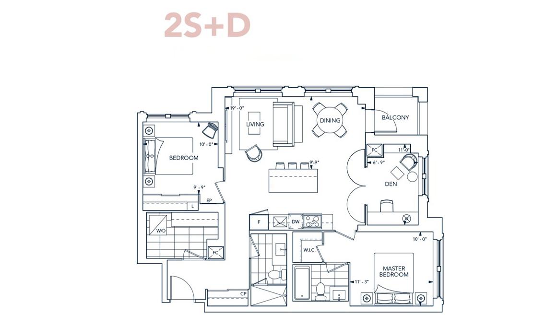 Suite 2S+D Suite Design Evermore