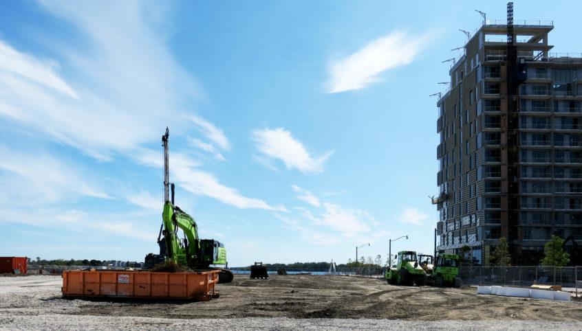 Construction Begins at Aqualuna at Bayside Toronto