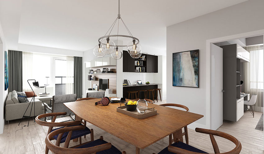 Evermore suite Din/Liv Room