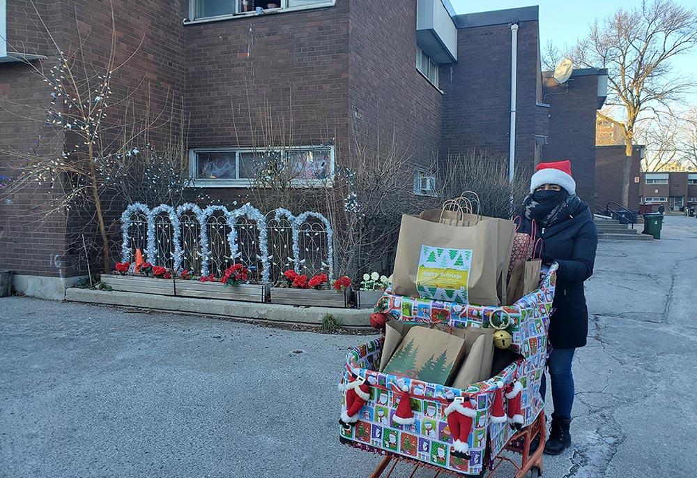 Donating presents