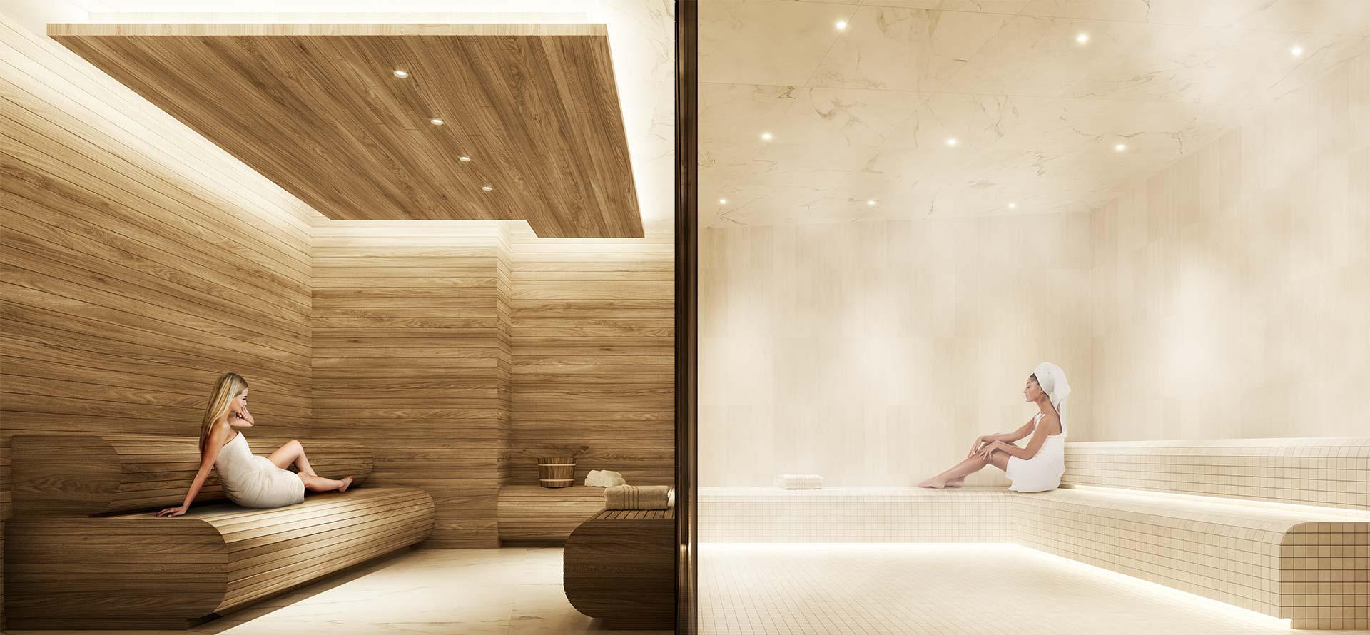 luxury amenities downtown Toronto
