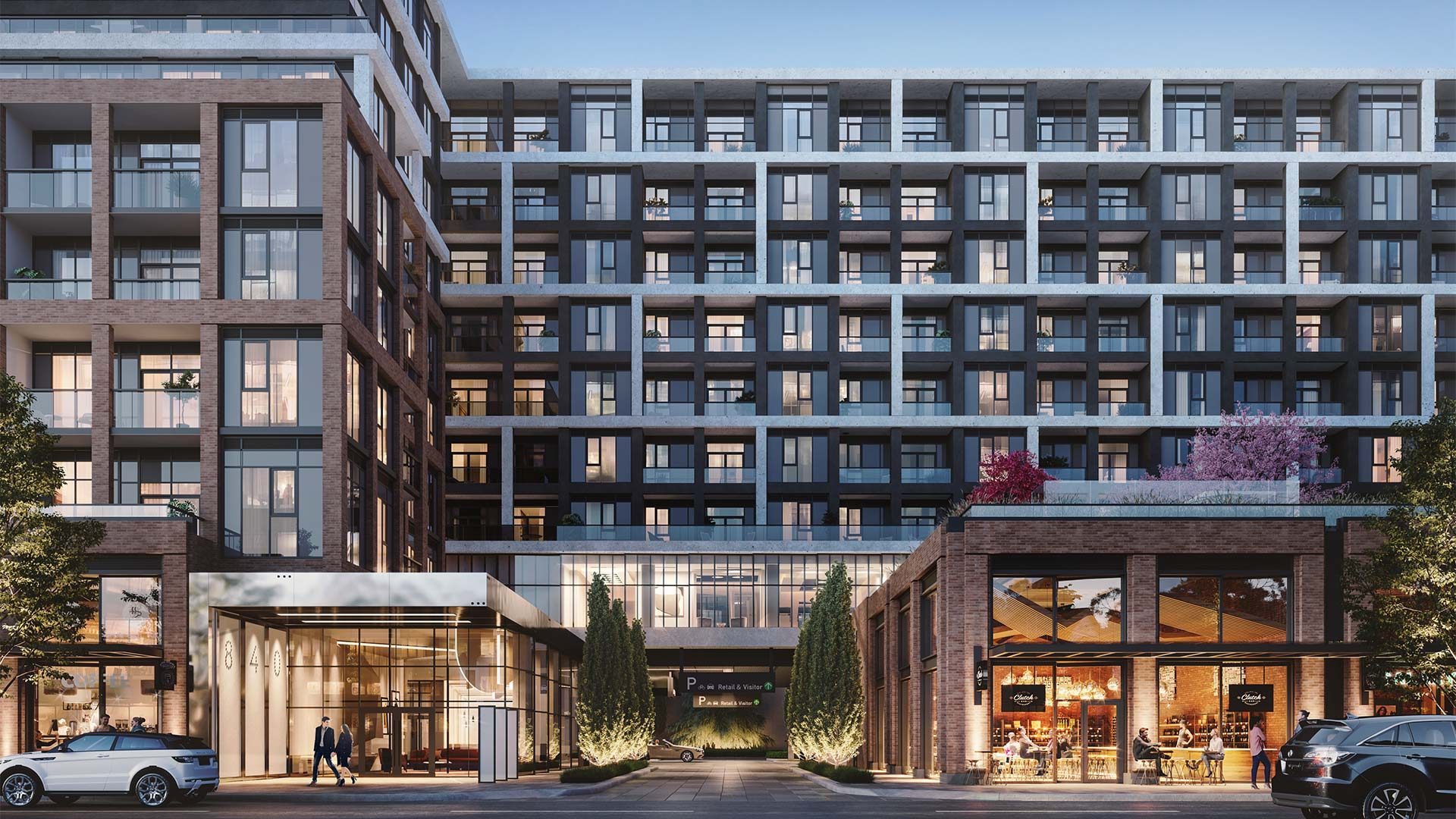 Luxury condo in Toronto. Located along at Dupont and Ossington street