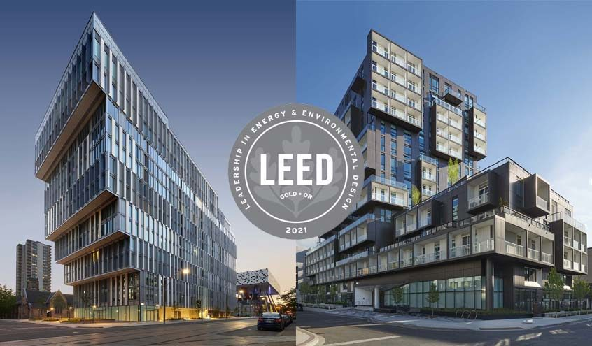 SQ2 & FORM Shine Brightly with LEED® Gold Certifications