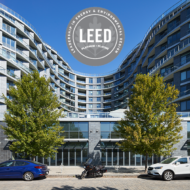 Aquavista – The second phase of the Bayside Toronto community has been awarded LEED®-Platinum Certification