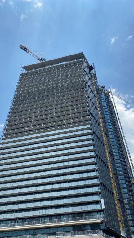 Via Bloor modern architecture. Condo Downton Toronto