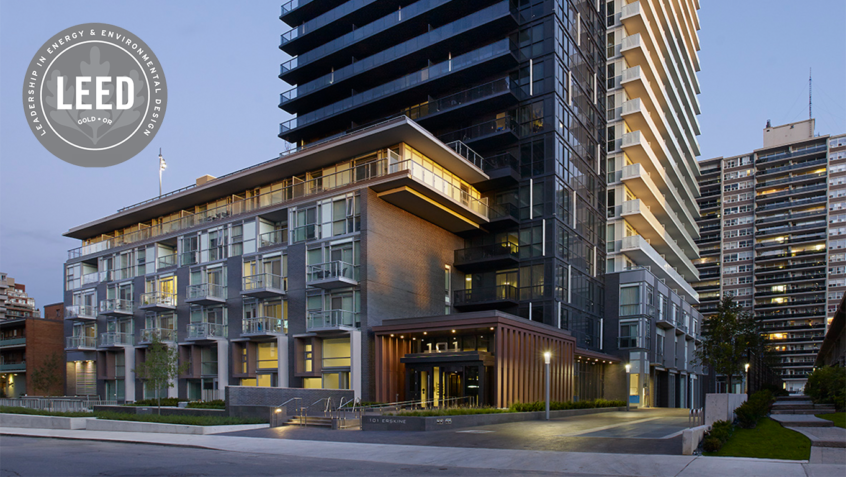 101 Erskine Achieves LEED® – Gold Certification