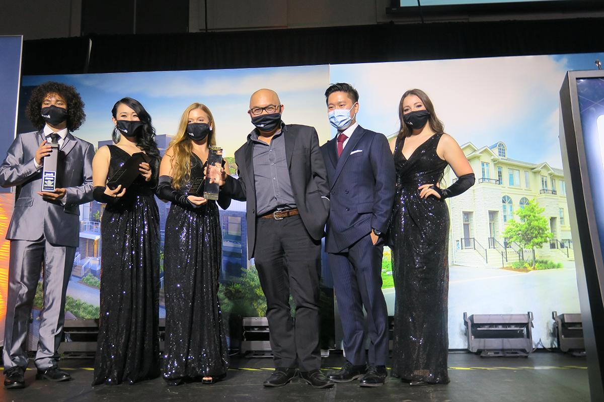 Tridel team at BILD Awards Gala
