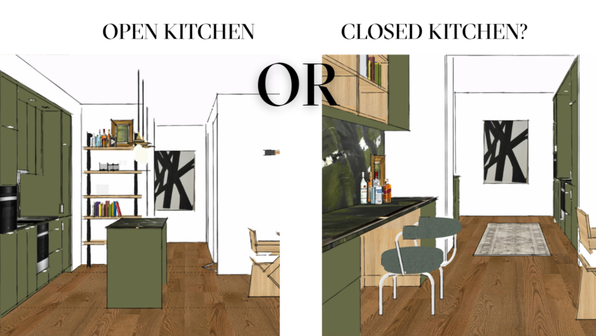 The Great Debate: Open Kitchen Vs. Closed Kitchen