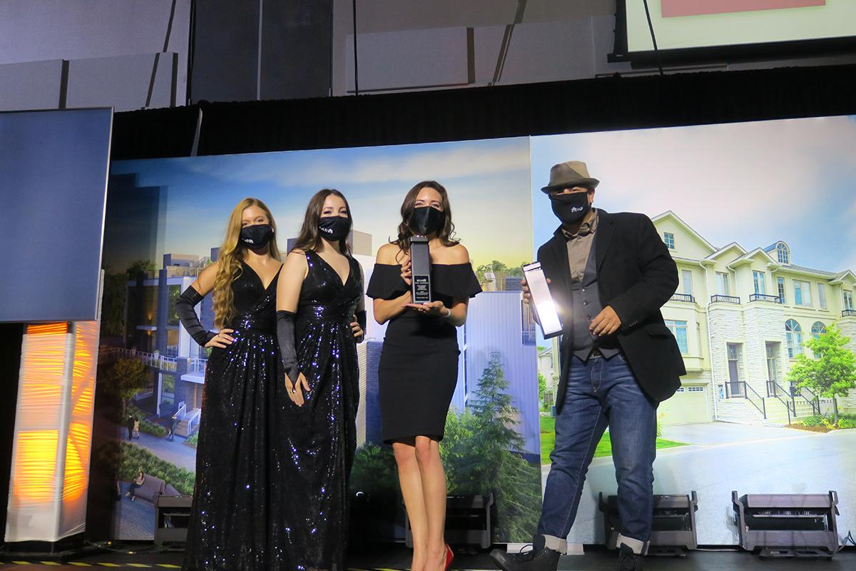 The Tridel team at the BILD Awards Gala